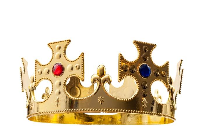 A jeweled crown.