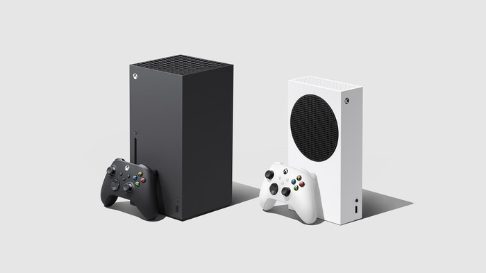 Microsoft Xbox Series X and S gaming consoles