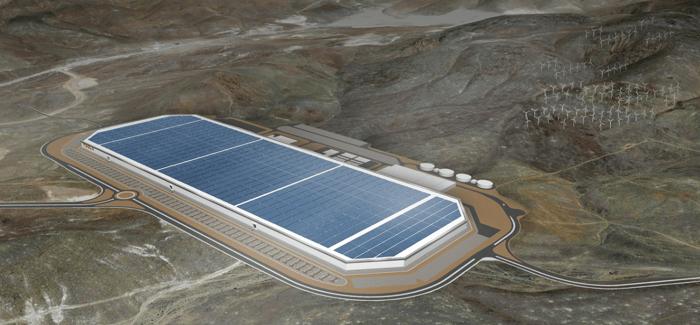 Tesla Gigafactory - Image Credit: Tesla