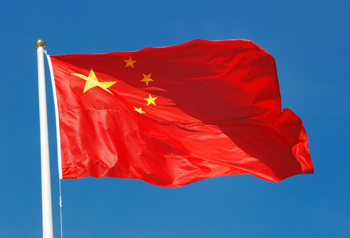 Flag of the People's Republic of China.