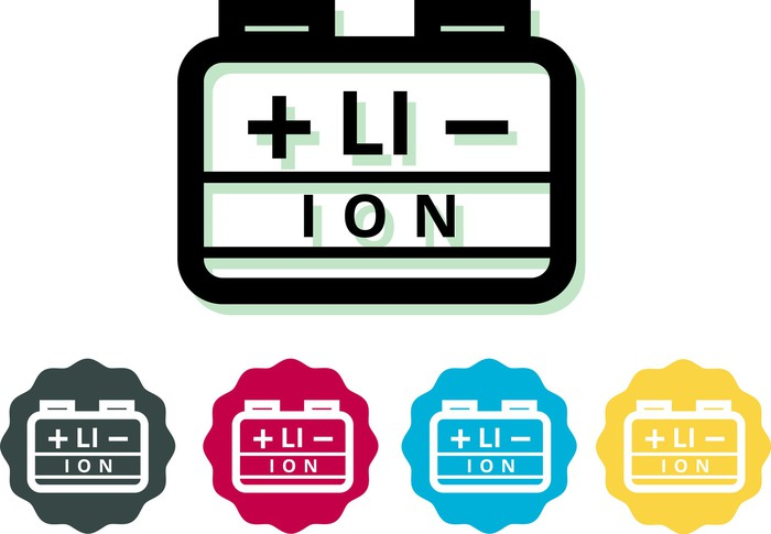 Lithium Ion Battery graphic