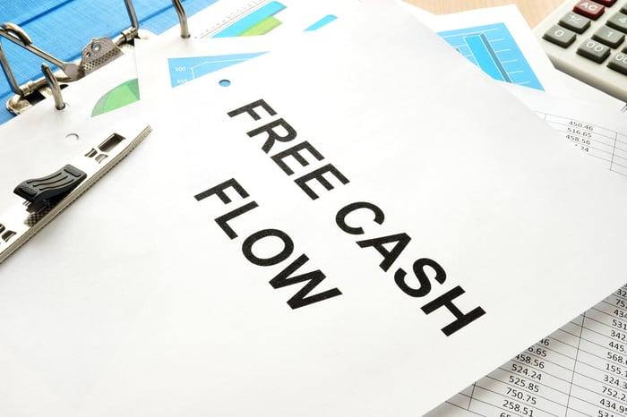 Free cash flow.