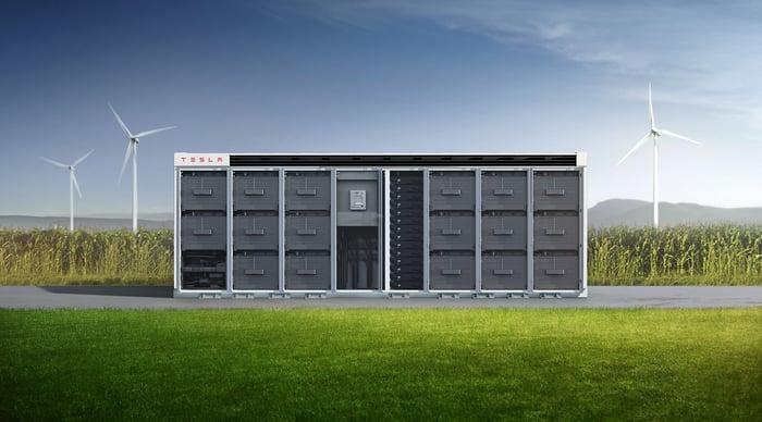 A look inside Tesla's Megapack energy storage system.
