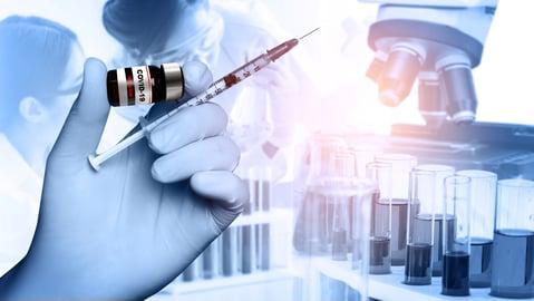 COVID-19 vaccine montage