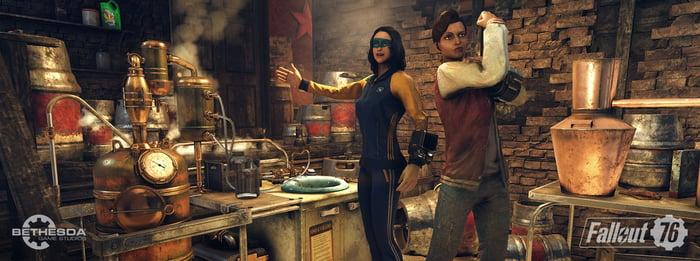 Bethesda's Fallout 76.
