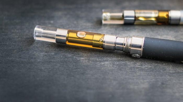 THC/CBD concentrate oil filled vape pens