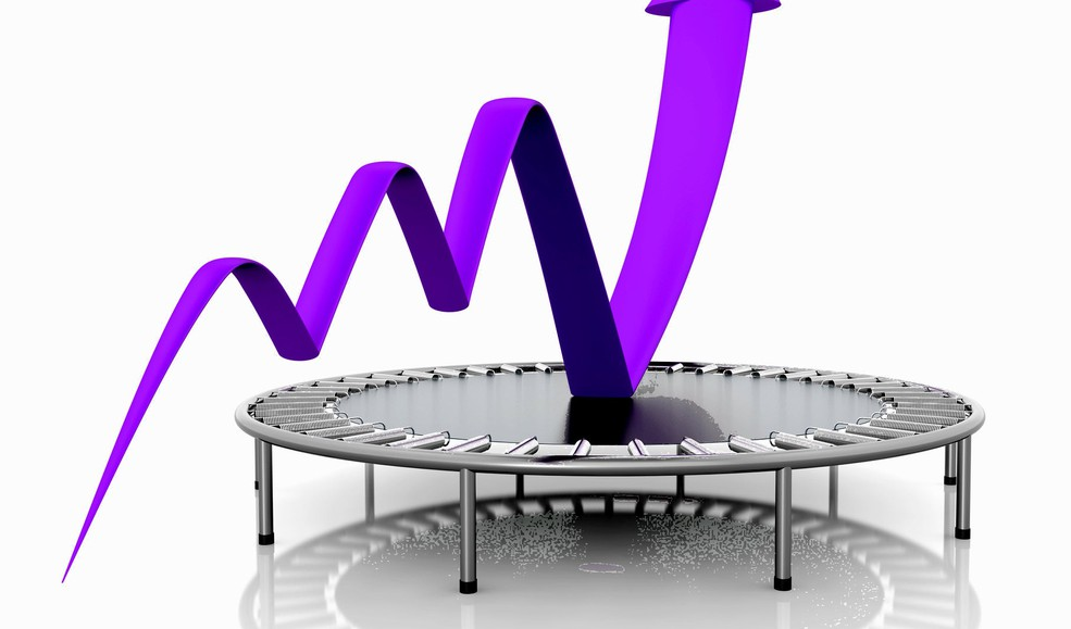 Business growth relaunched -- purple