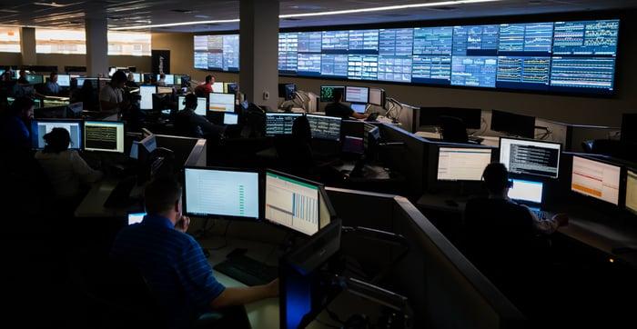 Inside BlackBerry Network Operations Center