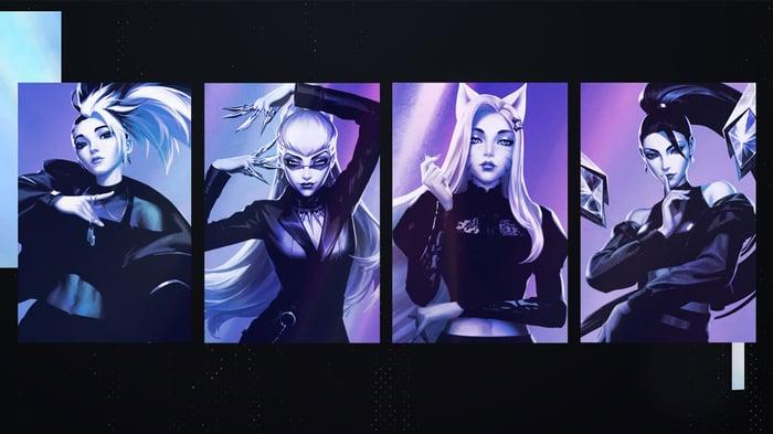 Promotional art for League of Legends.