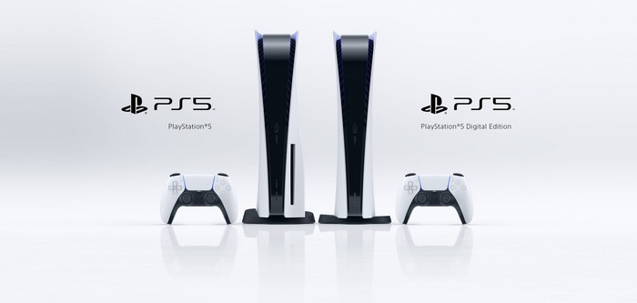 The two versions of the PS5.