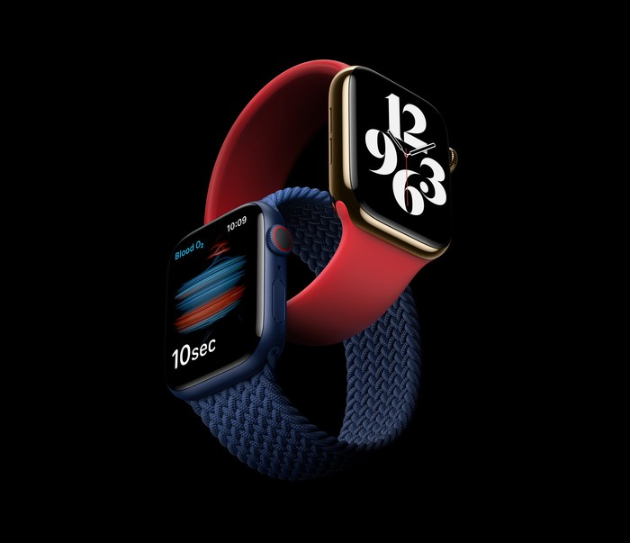 The Apple Watch Series 6, which was unveiled in September.