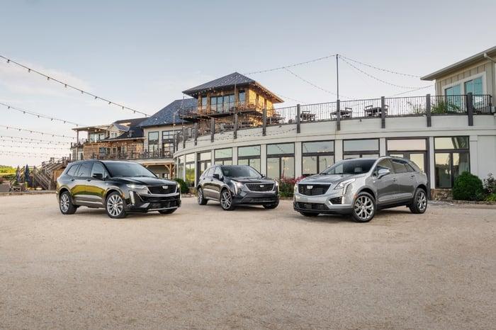 GM's cadillac SUV lineup