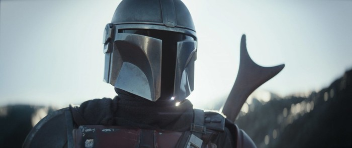 Photo of the titular character from Disney's The Mandalorian.