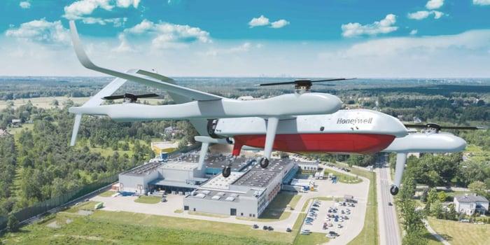 Honeywell drone concept.
