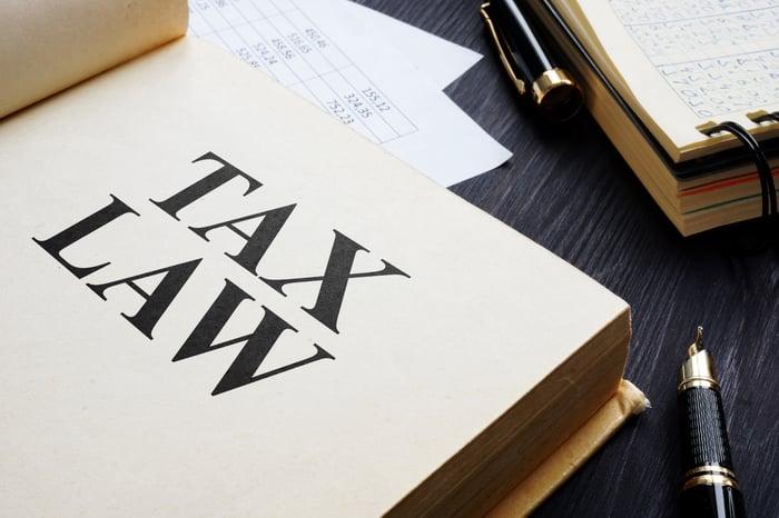 Tax law book.