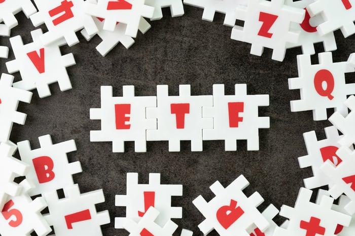 ETF puzzle pieces