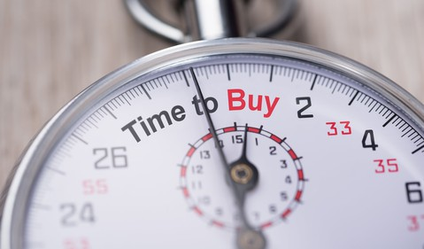 Stopwatch Time to Buy Stock Market Correction Getty
