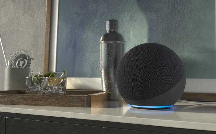 New Echo on a side table
