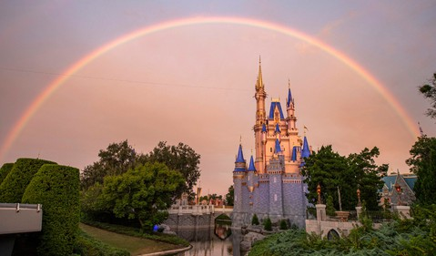 Rainbow over Disney World