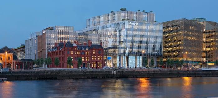 Salesforce Tower in Dublin