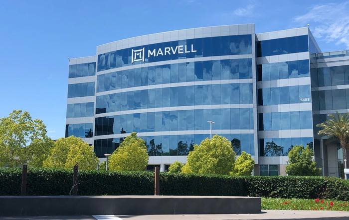 Exterior of Marvell headquarters