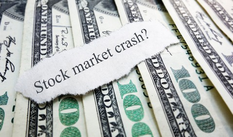 Stock Market Crash SP 500 Cash Money Bills One Hundred Invest Recession COVID Getty