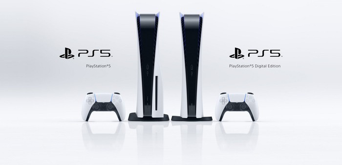 Sony's PS5 and PS5 Digital Edition.