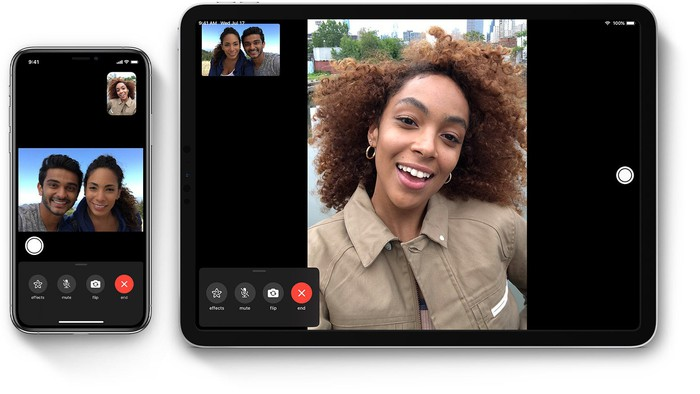FaceTime Image on iPhone and iPad