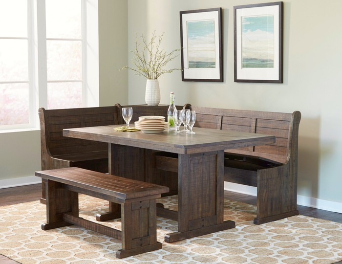 A dining set offered by Wayfair.
