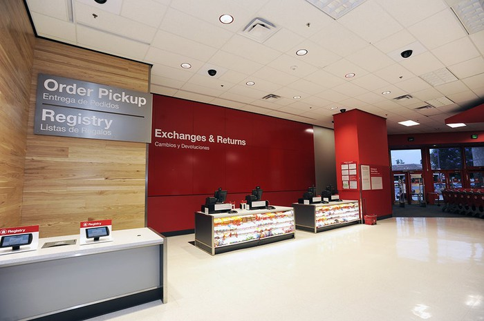 A remodeled Target store.