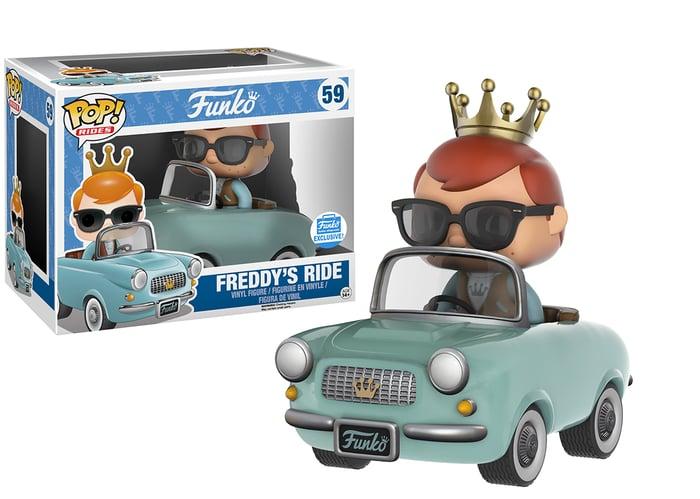 A Funko toy figure