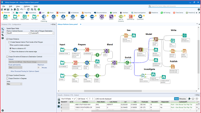 Screenshot of Alteryx Designer