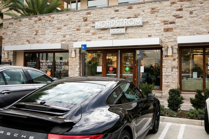Nordstrom Local store in Newport Beach.