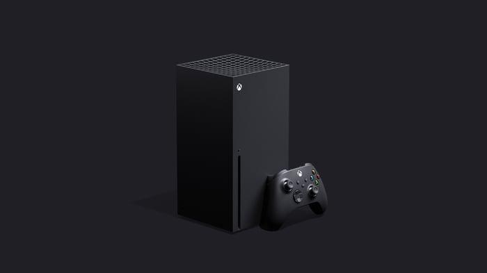 Microsoft's Xbox Series X console.