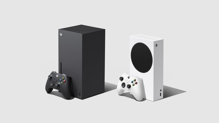 Microsoft's Series X and Series S consoles.
