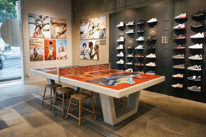 Adidas' flagship store in Berlin.