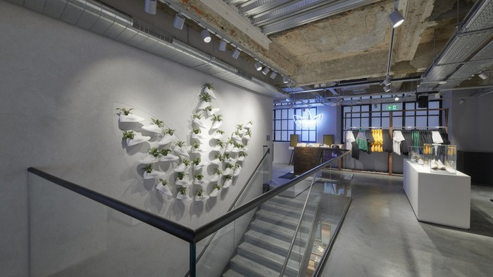 Adidas' flagship store in London.