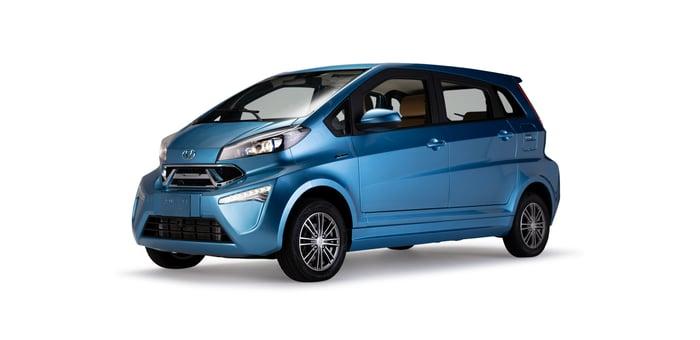 Kandi model K23 in blue