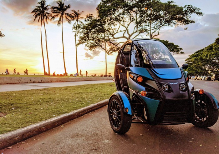 Fun electric vehicle (FUV) from Arcimoto