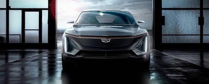 A GM car.