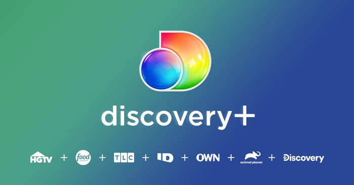 Discovery+ homepage