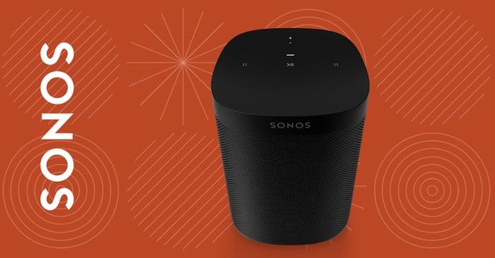 A Sonos speaker.