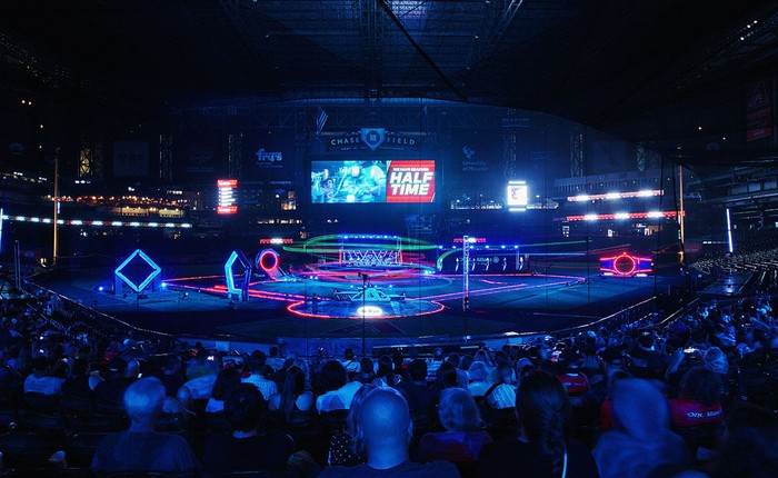 Drone racing arena