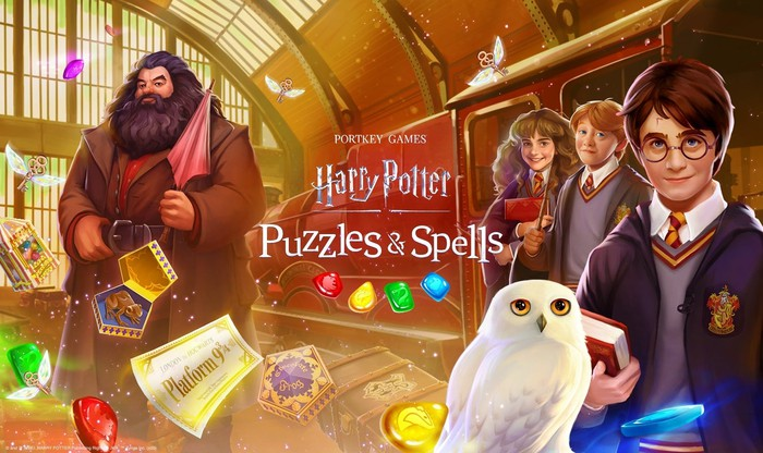 Characters from Zynga's new Harry Potter game.