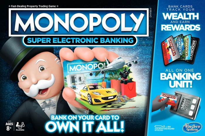 Hasbro's Monopoly game has had hundreds of variations over the year.