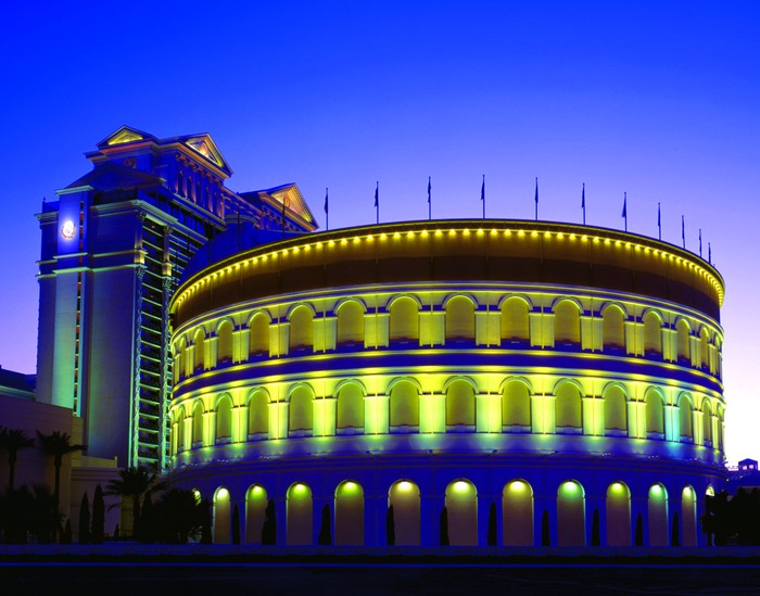 """""""The Colosseum"""" at the Caesars Palace hotel."""