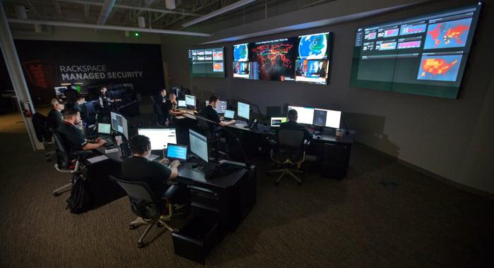 Inside a Rackspace security operations center
