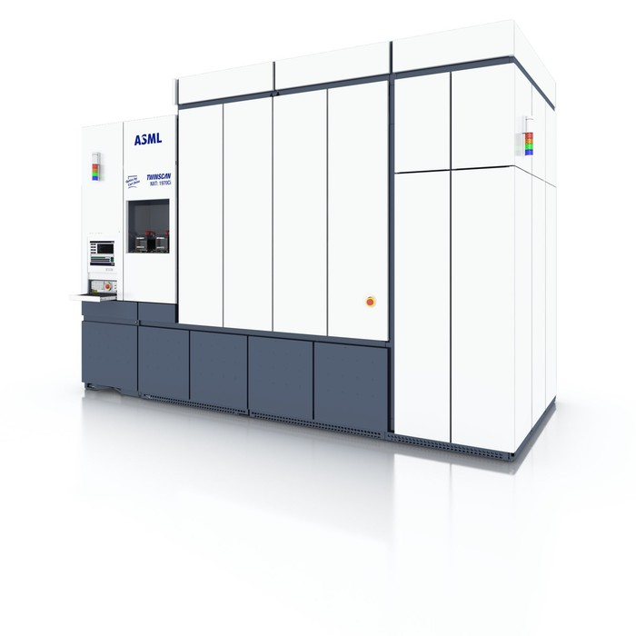 An ASML Twinscan machine.