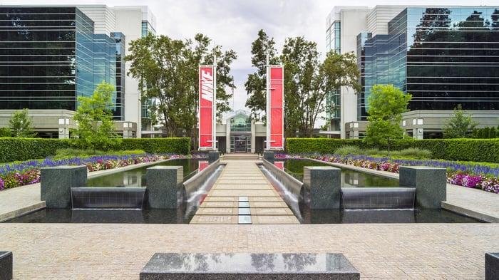 Nike's corporate headquarters.