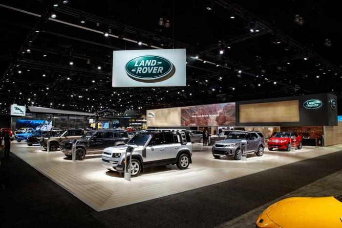 Jaguar Land Rover vehicles